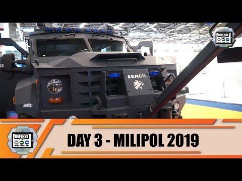 Milipol Paris 2019 Day 3 Review internal security protected law enforcement anti-riot SWAT vehicles