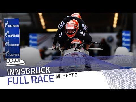 Innsbruck | BMW IBSF World Cup 2017/2018 - 4-Man Bobsleigh Heat 2 | IBSF Official