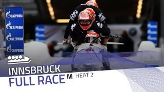 Innsbruck | BMW IBSF World Cup 2017/2018 - 4-Man Bobsleigh Heat 2 | IBSF Official