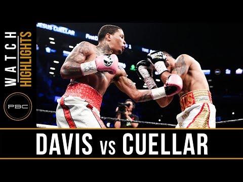 Davis vs Cuellar HIGHLIGHTS: April 21, 2018 - PBC on Showtime