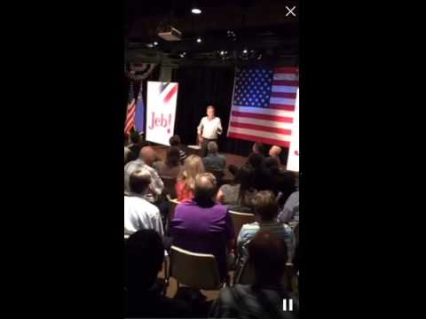 Jeb Bush speaks at Town Hall in Carson City, NV 7.17.15