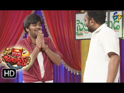 Sudigaali Sudheer Performance | Extra Jabardasth | 10th November 2017 | ETV Telugu
