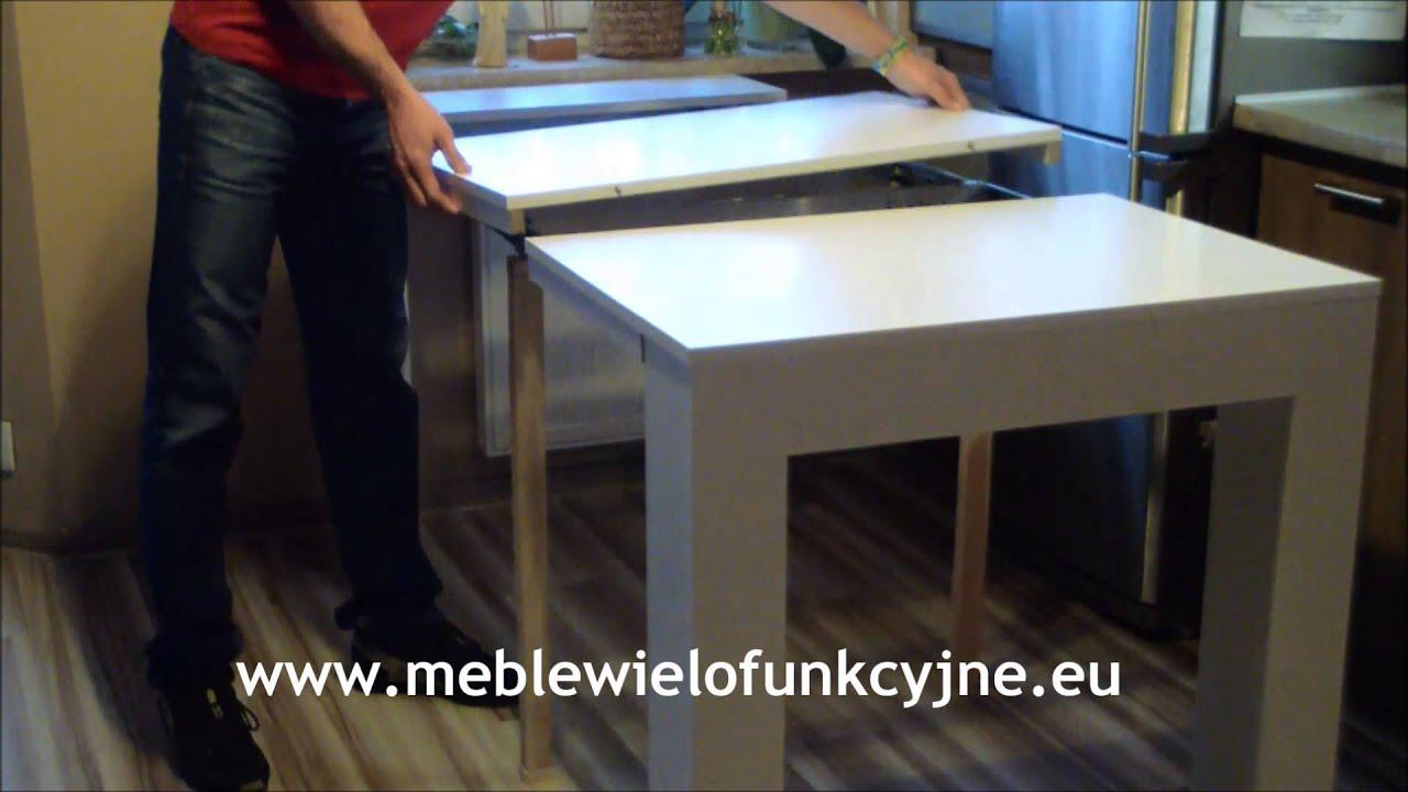 meble wielofunkcyjne stolik nina stolik rozk�adany