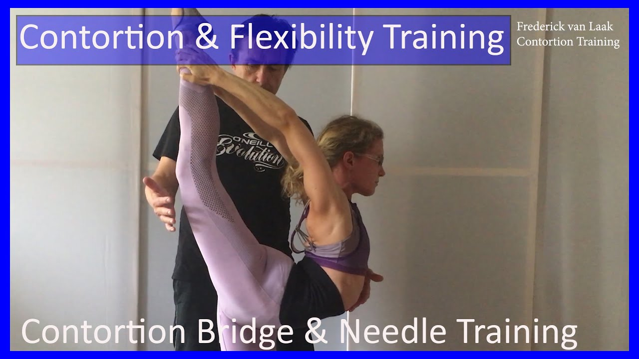 18 Frederick van Laak Contortion: Bridge & Needle Training - Also for Yoga, Pole, Ballet, Dance