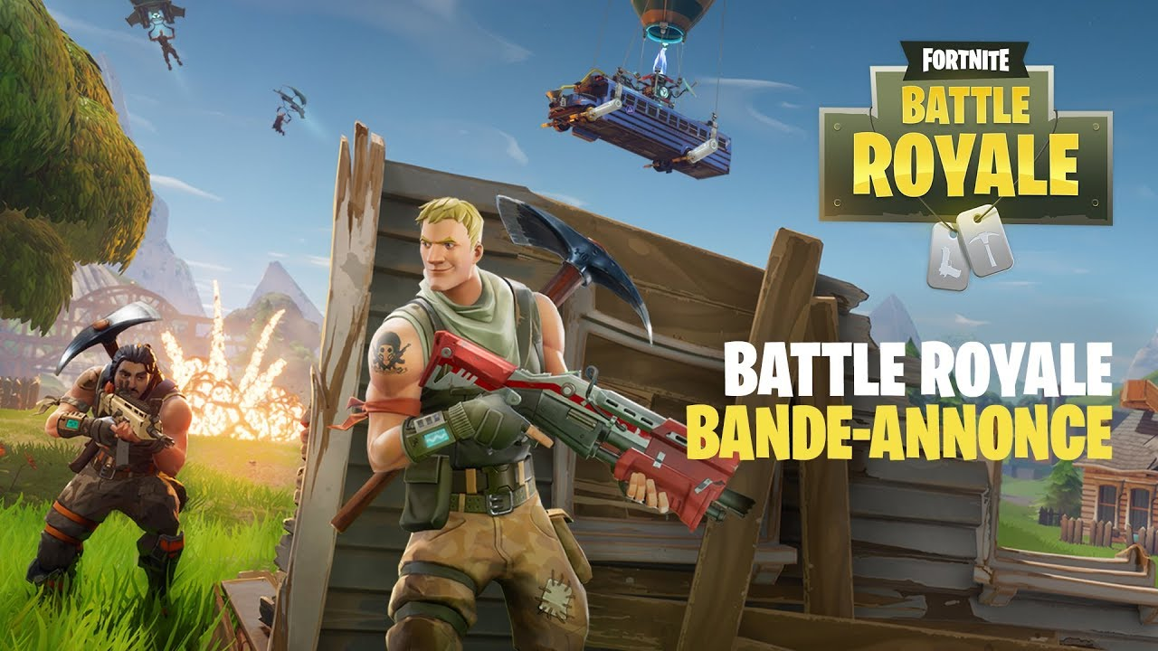 Annonce De Fortnite Battle Royale