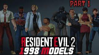 Resident Evil 2 Remake PC   1998 Models Project Mod BRAND NEW MOD Part 1