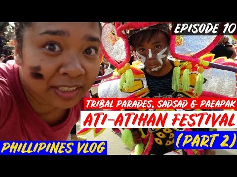 Tribal Parades, Sadsad, & Paeapak - Ati-Atihan Festival (Part 2) | PHILIPPINES TRAVEL VLOG 🇵🇭✈️