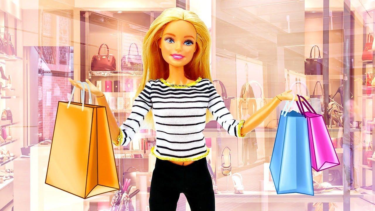 ¡Barbie va de compras! La ropa de Barbie. Vídeos para niñas en español