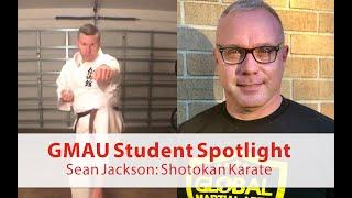 GMAU Student Spotlight: Sean Jackson (Shotokan Karate)