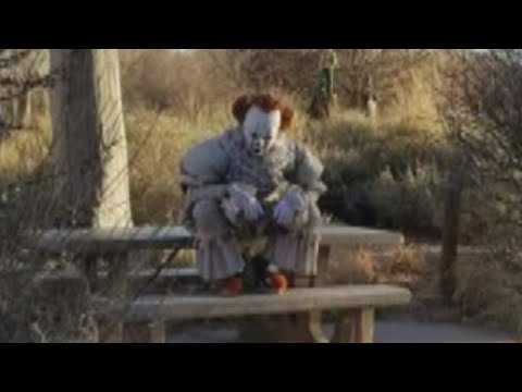 Video of scary clown spotted in Albuquerque's Bosque goes viral
