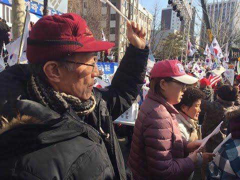 South Korean President Impeached - Protests ensue