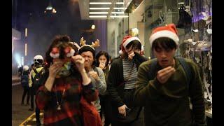"VOA连线(汤惠芸):香港反送中抗争者连续第三日""和你塞""打击圣诞假日消费"