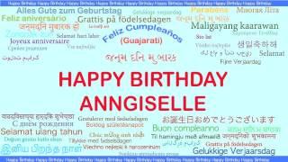 Anngiselle   Languages Idiomas - Happy Birthday