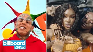 6ix9ine Drops New Album, SZA Collabs With Ty Dolla Sign & More | Billboard First Stream New Music