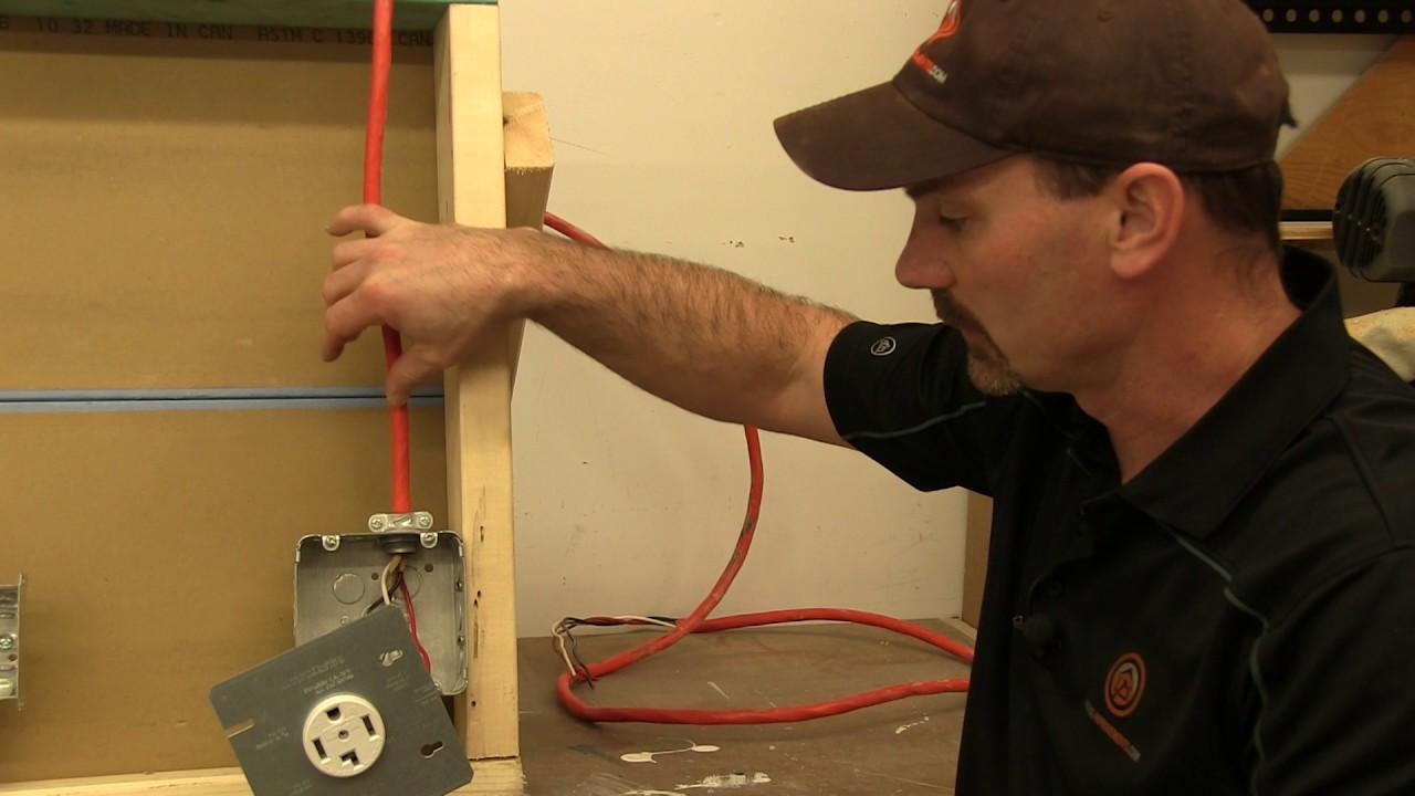 dryer receptacle wiring [ 1280 x 720 Pixel ]