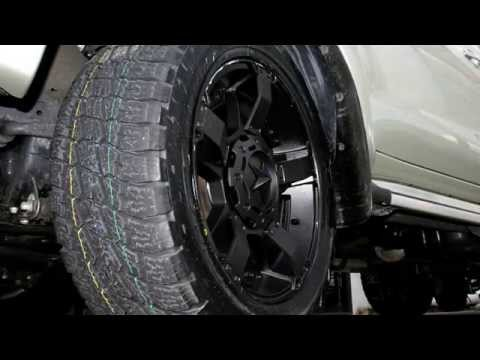 Toyota Hilux 20 inch custom rims KMC Rockstar II XD Series Wheels Nitto Terra Grappler Tyres