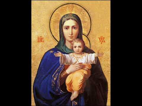 Молитва Пресветој Богородици за децу