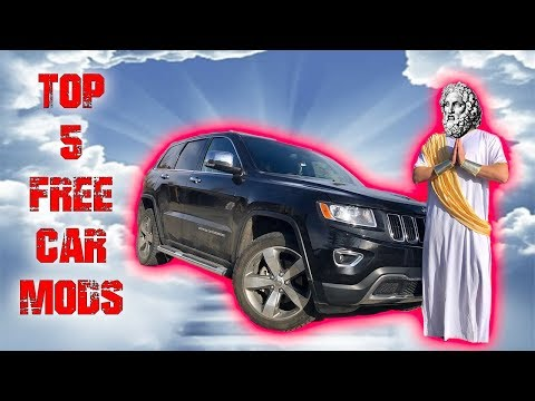 TOP 5 FREE Car Mods told by a GREEK GOD!