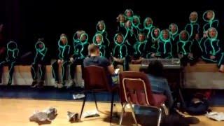 6th Grade Talent Show - The Glow Men