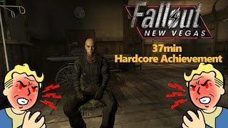�������� ���� Fallout: New Vegas! Hardcore Achievement in 37 Minutes ������