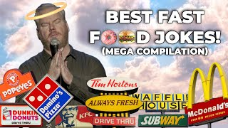 Best Fast Food Jokes Compilation | Jim Gaffigan