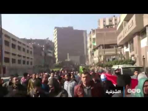 رصد | محافظات مصر تتظاهر نهارًا ضد التعذيب وسوء الأحوال الاقتصادية تحت شعار