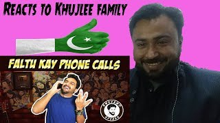Reacts On Khujlee Family FALTU KAY PHONE CALLS | AWESAMO SPEAKS