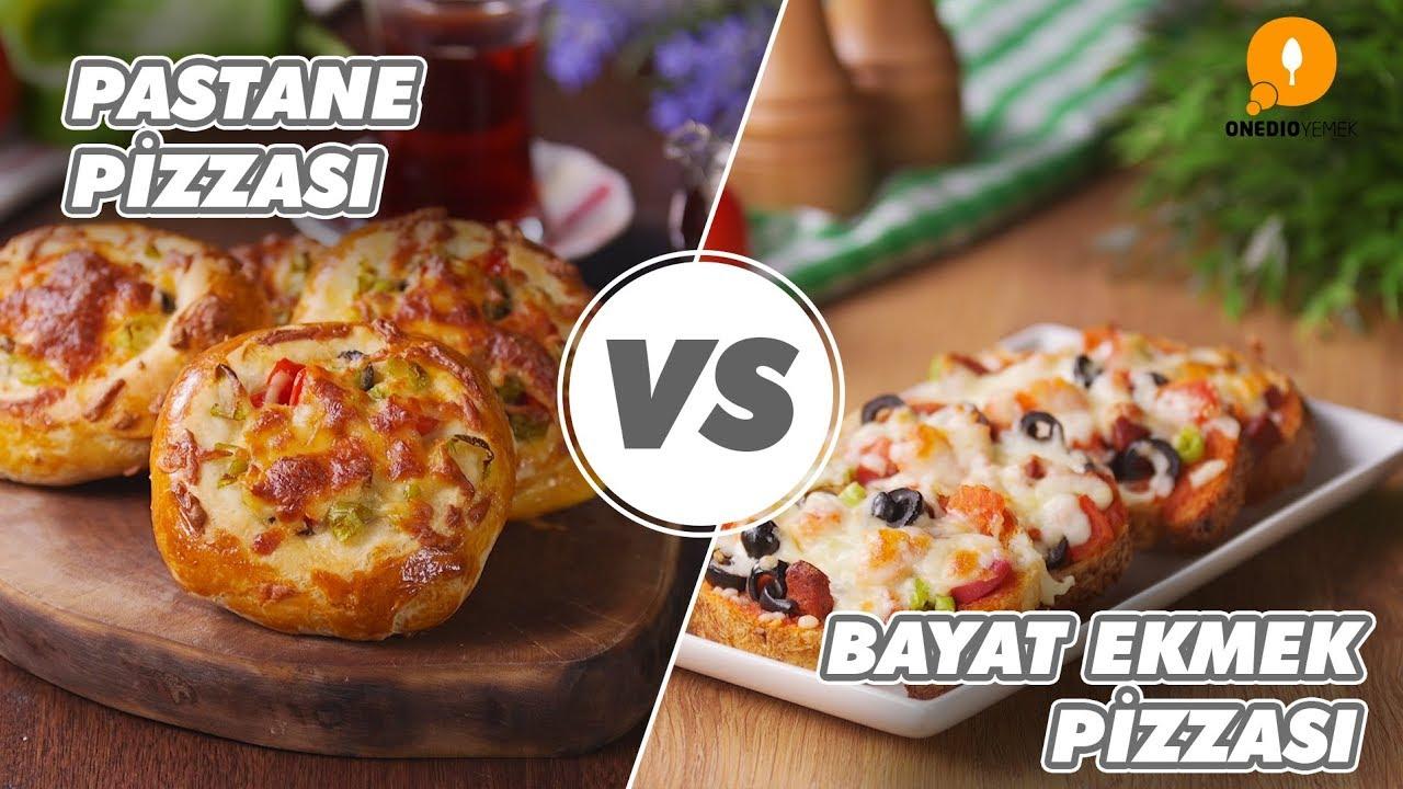 Bayat Ekmek Pizzası Yapımı Videosu