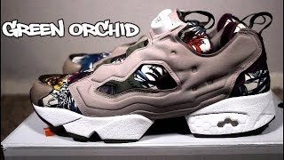 7d6503f87c0 Reebok Insta Pump Fury Green Orchid Review   On Feet