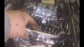 видео Замена маслосъемных колпачков lada 2105 (ваз 2105)