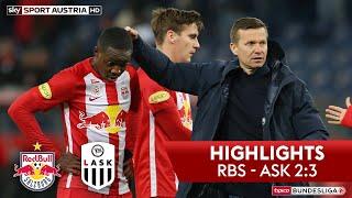 Highlights: Tipico Bundesliga, 19. Runde: Fc Red Bull Salzburg - Lask 2:3