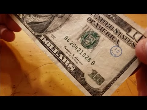 10 Dollar Stamped Bill Soy C-1?