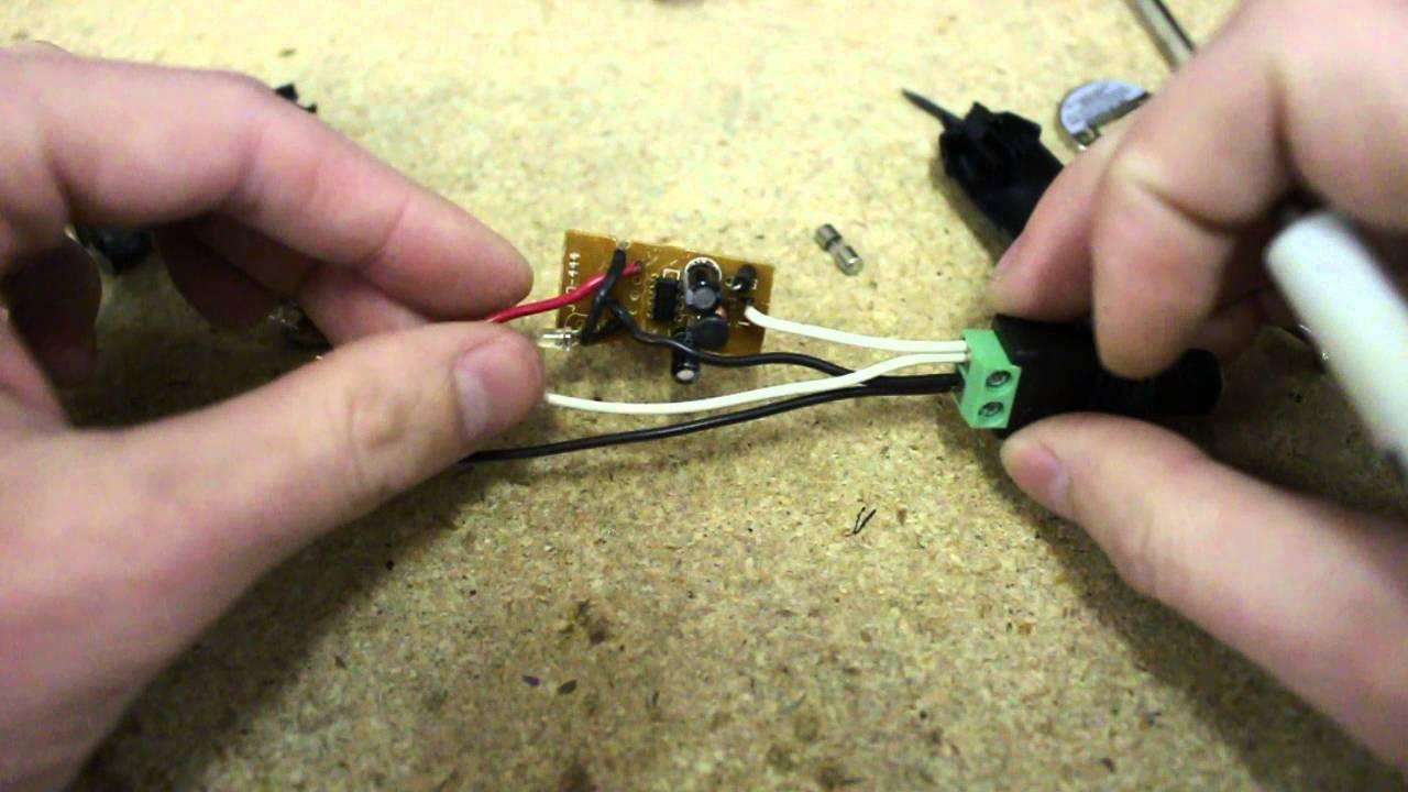 DIY Fixed 5v/12v Power Supply