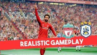 Download Video PES 2019 Realistic Highlight: Liverpool vs Huddersfield | Premier League MP3 3GP MP4