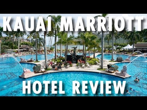 Kauai Marriott Resort Tour & Review ~ Hotel Tour & Review ~