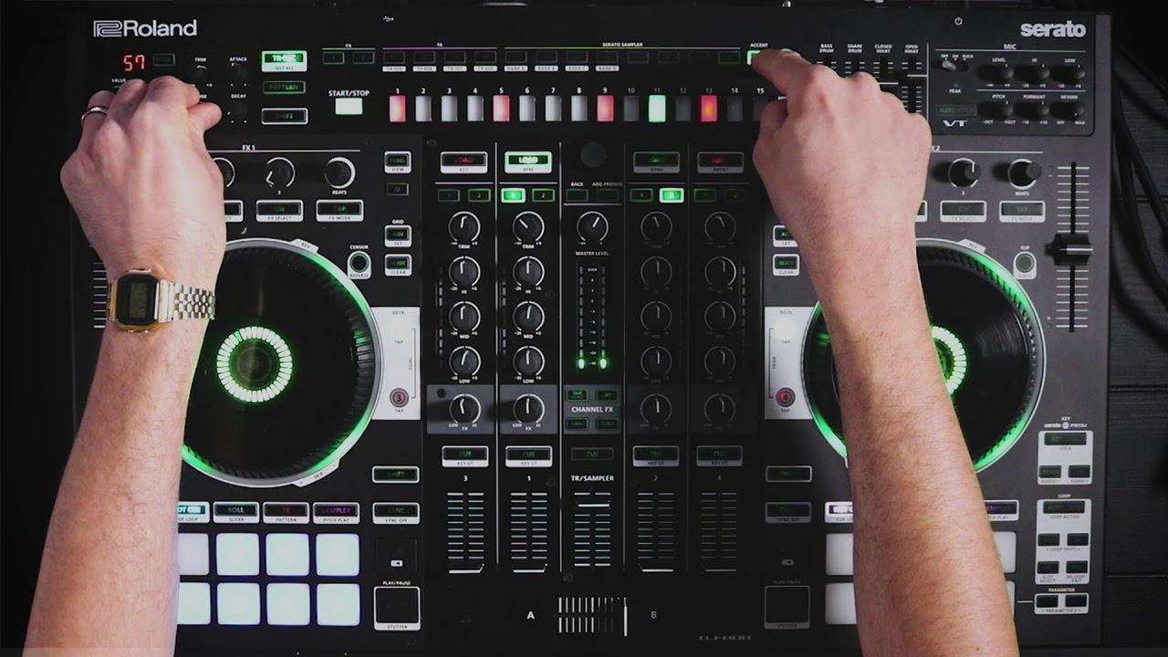 Roland DJ 808 Controller Firmware Update