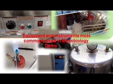 Equipments And Instruments Most Commonly Used In Microbiology