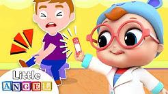 Baby Doctor Checkup Song   Little Angel Kids Songs & Nursery Rhymes