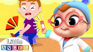 Baby Doctor Checkup Song | Little Angel Kids Songs & Nursery Rhymes