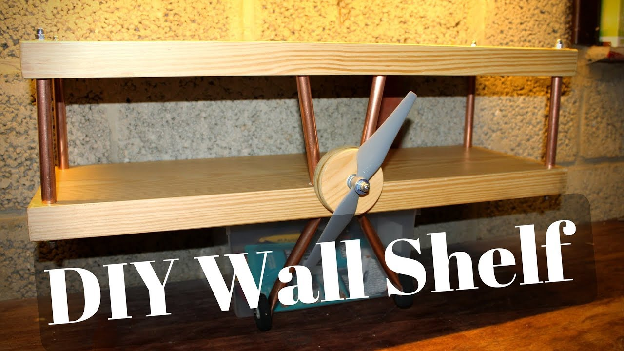 How to Build a cool Wall Shelf