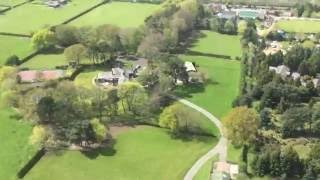 Peter Rosenfeld in R44 Helicopter over Cheshire