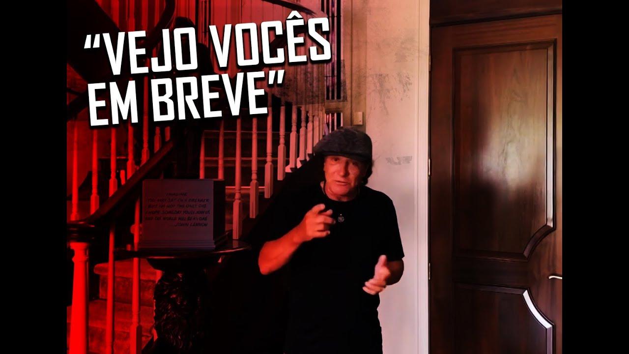 AC/DC - Brian Johnson envia mensagem aos fãs do BonFest 2020