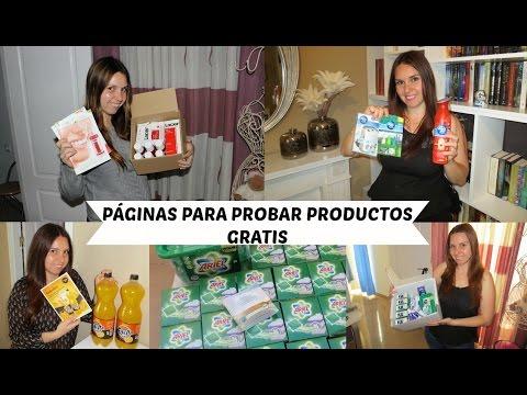 PAGINAS PARA PROBAR PRODUCTOS GRATIS