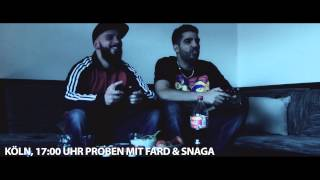 FARD // SNAGA // DJ O-SUN // - PLAYSTATION,PROBEN & M&M`s (Tourblog)