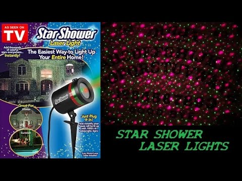 Star shower motion review how does it really work doovi for Projecteur laser star shower motion