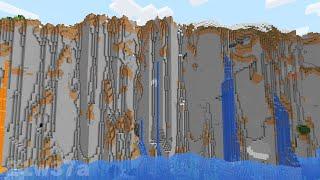 Новые горы, пещеры, механика игры! MInecraft 1.18 snapshot 21w37a видео