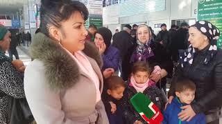 Чеченка вернула своих детей