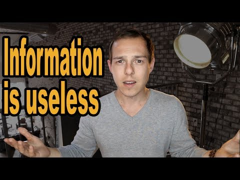 Rant: This is exactly why and when information is USELESS