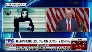 Anonymous Returns: Hacking Police And Donald Trump Exposing Him