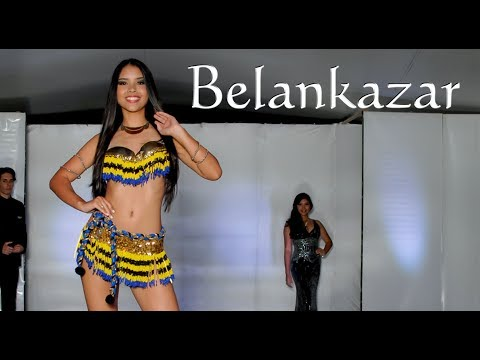 Yocsana Guerrero En Pasarela - Modelo Belankazar